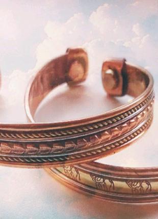 Лечебные медно- магнитные браслеты