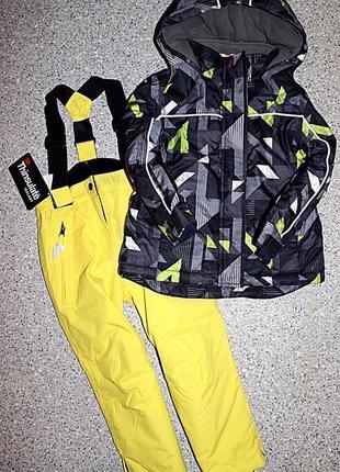 Зимний лыжный комплект штаны и куртка