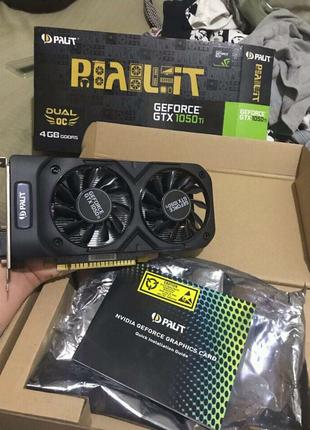 Palit Geforce Gtx 1050 ti Dual