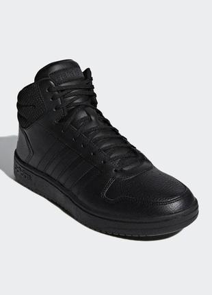 Мужские кроссовки adidas hoops 2.0 mid(артикул:f34809)