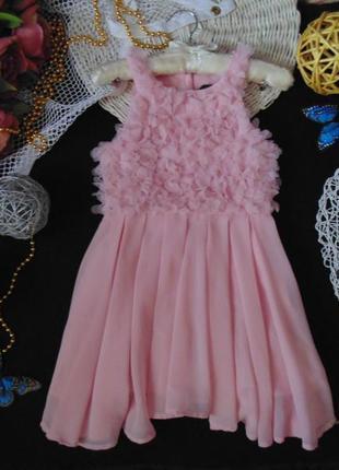 5-6лет.шикарное нарядное платье george.мега выбор обуви и одежды!