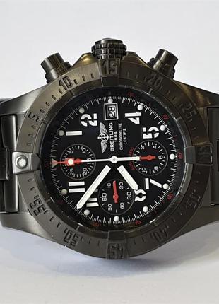 Мужские часы Breitling Aeromarine Avenger Skyland Blacksteel Mens