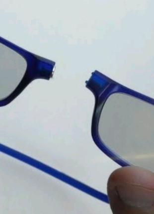 Очки на магнитах с диоптриями для зрения