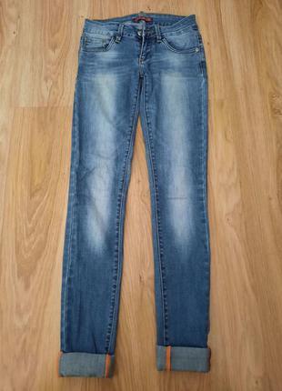 Джинсы скинни фирмы l&p jeans