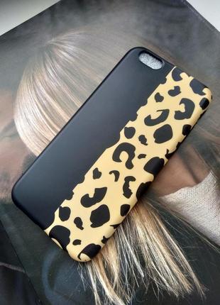 Чехол для  iphone 6/6s  леопард 🐆