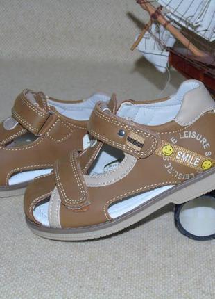 В наличии сандалии для мальчика 27 размера