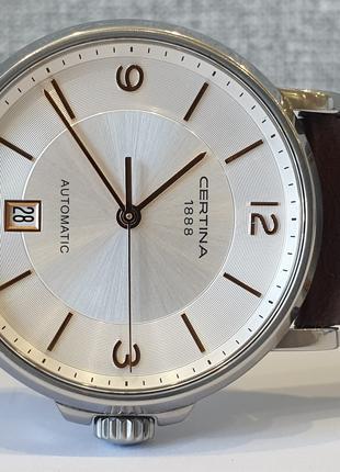 Мужские часы Certina Automatic 100m DS Caimano C017.407.36.037.00