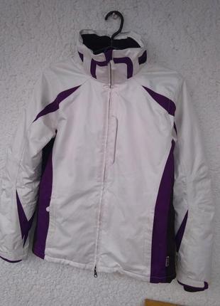 Куртка alpine tcm tchibo recco лыжная теплая женская s