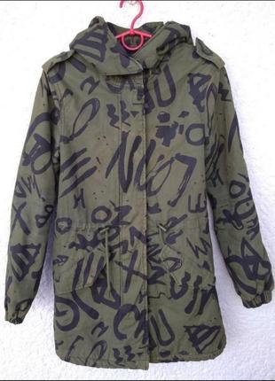 Куртка fb sister камуфляж хаки ( военная ) s m