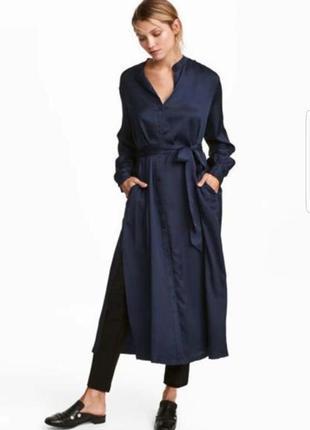 Стильное платье-рубашка h&m