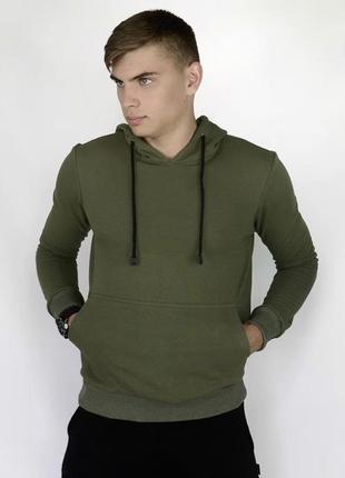 Мужская спортивная толстовка худи с капюшоном