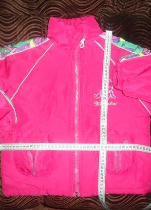 Курточка деми для девочки с нюансом