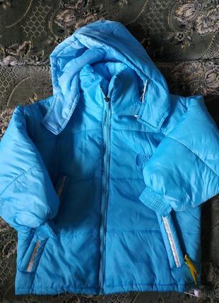Дутая курточка для девочки
