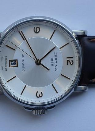 Мужские часы certina automatic 100m ds caimano c017.407.36.037...