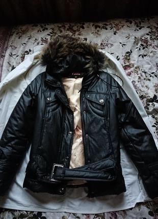 Куртка женская зимняя, пуховик женский. 44р.