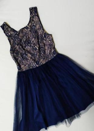 Красивое платье с фатином