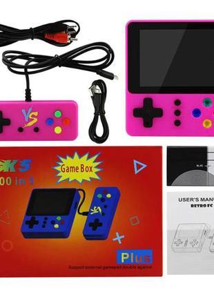 Портативная игровая приставка K5 Game Box 500in1 + джойстик