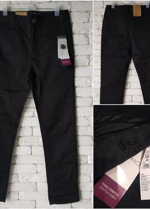 Kiabi испания черные брюки классика немного стрейч