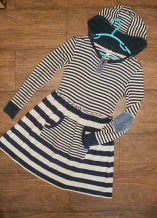 Теплое платье на 10-11 лет