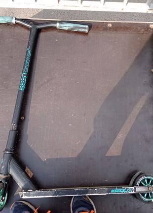 Best scooter детский трюковой самокат.