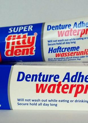 Крем для фиксации съемных зубных протезов Fittydent, Австрия