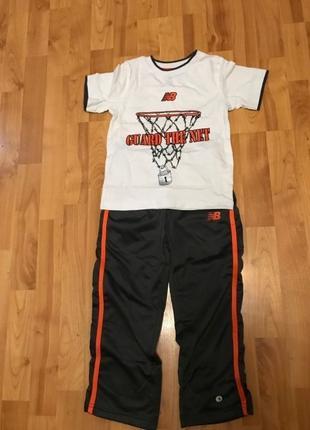Штаны спортивные и футболка New Balance размер 4 T Оригинал из...