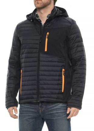 Куртка мужская Skechers Nylon Shell Jacket - Insulated размеры...