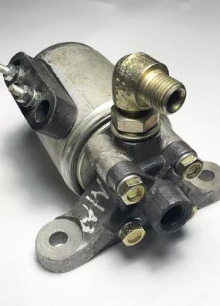 Клапан электромагнитный останова двигателя МАЗ (круглый)