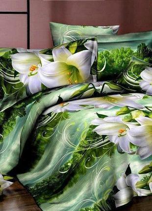 Постільна білизна/постельное бельё: цветы