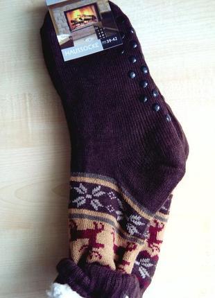 Носки-валянки мужские на искуственном меху. очень теплые и кла...