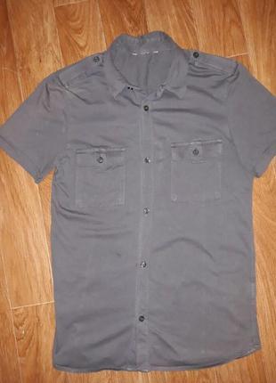 Стрейчевая мужская тениска