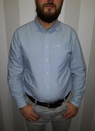 Стильная мужская рубашка dockers в идеальном состоянии