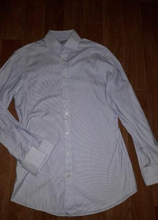 Мужская приталеная рубашка под запанки charles tyrwhitt в идеа...