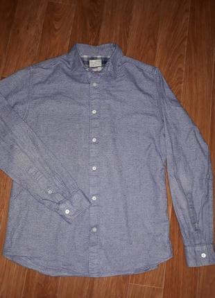 Стильная мужская рубашка selected homme в идеальном состоянии