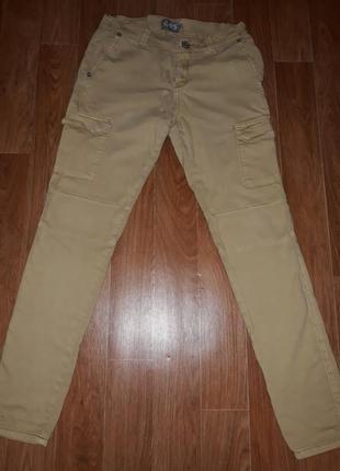 Стильные мужские джинсы брючного кроя c&s в идеальном состоянии