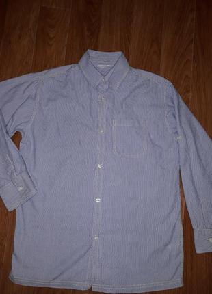 Стильная мужская рубашка tcm  в идеальном состоянии