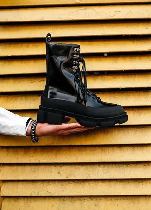 Шикарные женские хайповые осенние ботинки на платформе both x ...