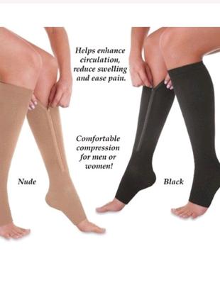 Лікувальні компресійні шкарпетки зменшують відчуття важкості ніг