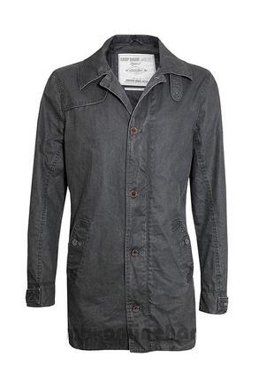 Новая куртка тренч серая с пропиткой 'camp david' 54-56р