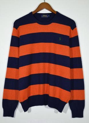 Свитер шерстяной polo ralph lauren wool jumper