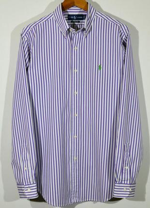Мужская рубашка в полоску polo ralph lauren shirt