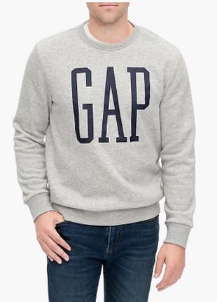 Толстовка gap logo hoodie sweatshirt