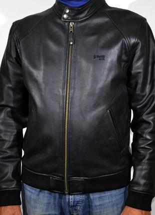 Кожанка schott nyc leather bomber jacket