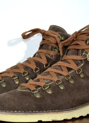 Ботинки замшевые suede boots