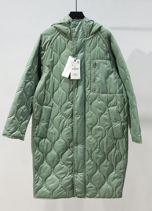 Непромокаемое ветрозащитное стеганое пальто/куртка/парка  овер...
