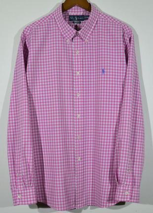 Рубашка в клетку polo ralph lauren shirt