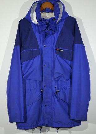 Куртка, ветровка berghaus vintage gore-tex jacket
