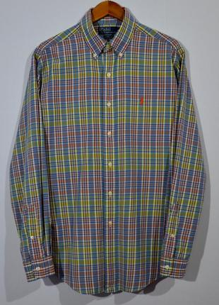 Рубашка в клетку polo ralph lauren tartan shirt
