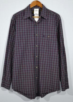 Рубашка в клетку timberland tartan shirt