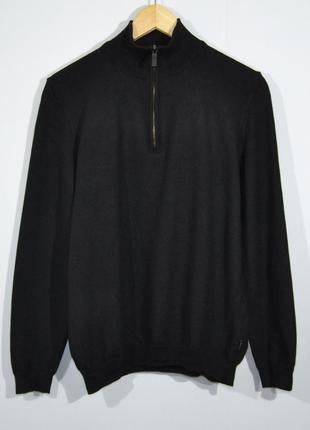 Boss hugo boss wool zip jumper